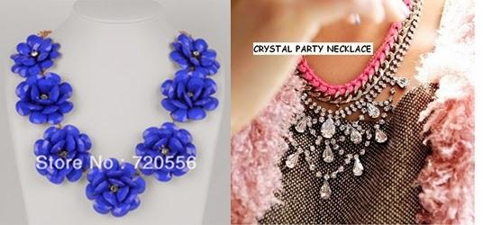 en varios colores por sólo $5,85 aquí También añado este collar que me encantó y que ya está en mi wish list, cuesta $6,22 y podéis encontrarlo aquí
