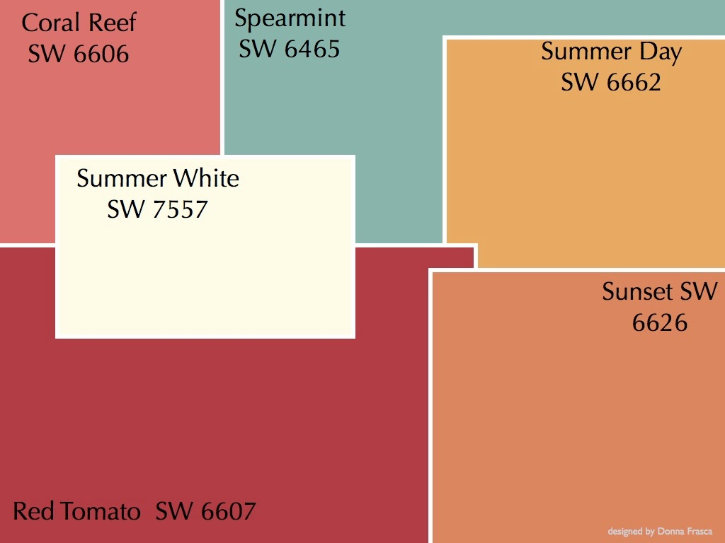 Coral Reef Paint Color Color Specialist In Charlotte