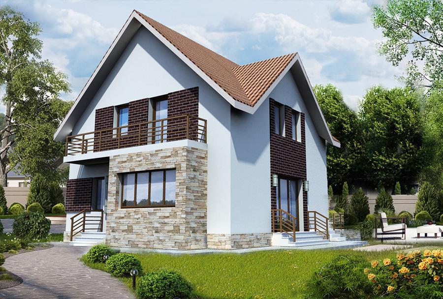 proiect casa mica Glina