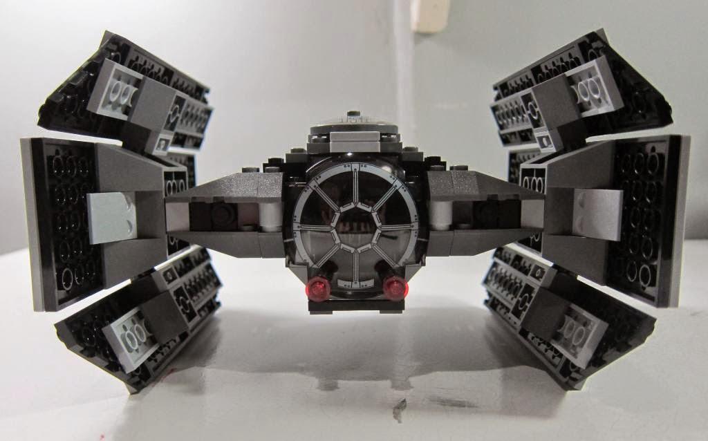 lego star wars darth vader tie fighter instructions