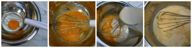 Pancakes de arroz: preparación 1
