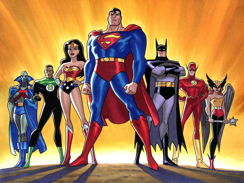 Justice League Unlimited Hd Wallpaper | Black Wallpapers For Desktop