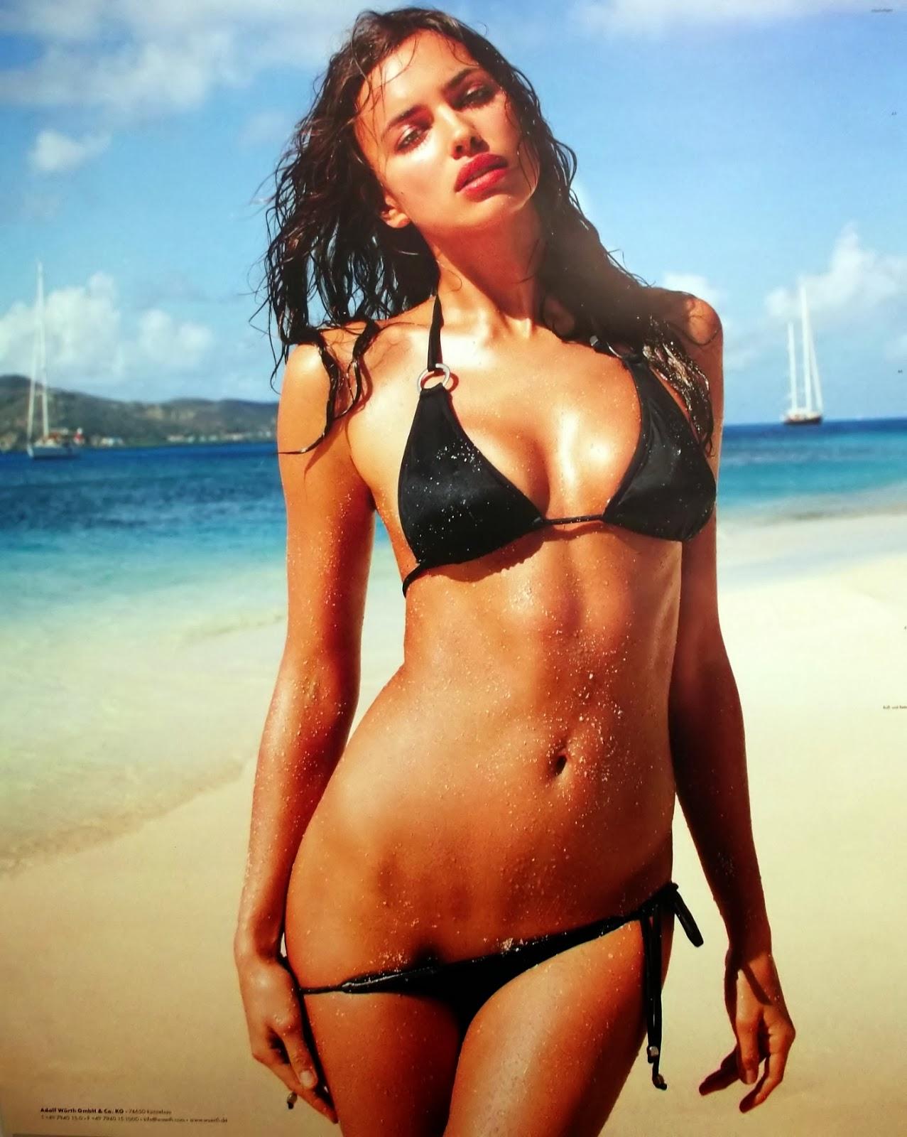 Irina Shayk Wrth Calendar 2013 Magazine Photoshoot