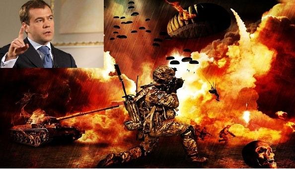 Μεντβέντεφ: Ή θα βρούμε λύση για τη Συρία, ή πάμε σε παγκόσμιο πόλεμο