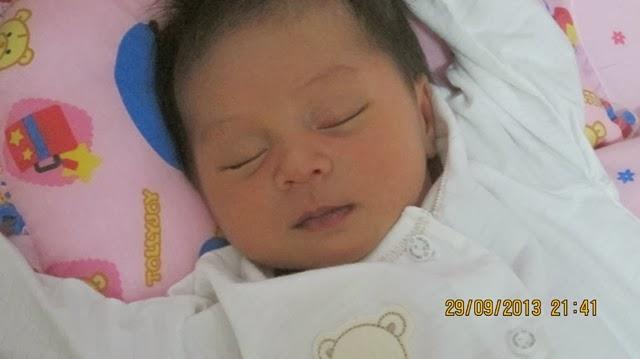 cucu kedua Fatin Nuwairah