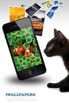 تطبيق iWallpapers Free يحتوي على أكثر من 1700 خلفية لهواتف الآيفون