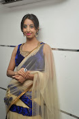 Sanjjana Latest Glam pics in saree-thumbnail-17