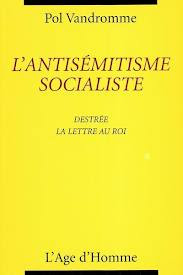 L&#39;Antismitisme socialiste