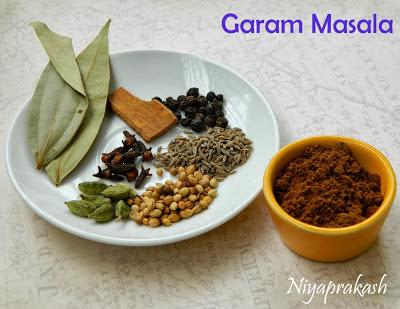 Homemade Garam Masala Powder for biryani