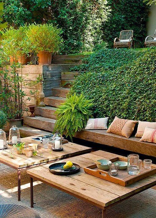 muebles con tablones de madera de pino sin tratar  Estos muebles