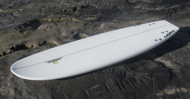 The alley fish fry the more surfboards simmons for Hybrid fish surfboard