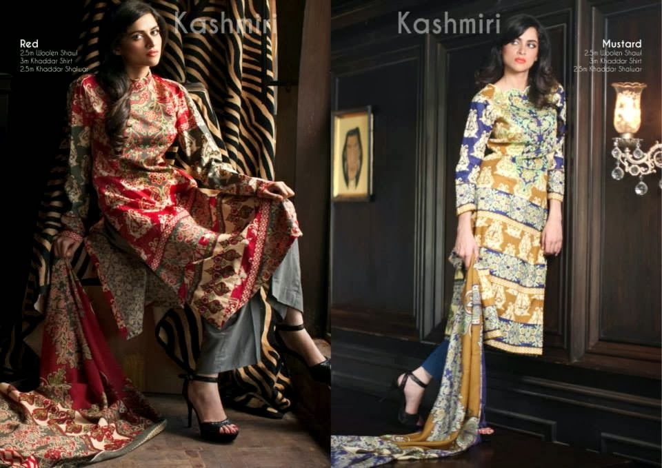 OrientTextilesKashmiriKhaddarCollection2013Vol2 wwwfashionhuntworldblogspotcom 020 - Orient Textiles Kashmiri  Fall/Winter Collection 2013 vol 2