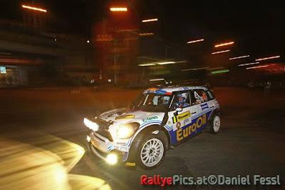 ERC Barum Czech rally Zlín 2015