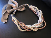 Chunky Twisted Bridal Necklace