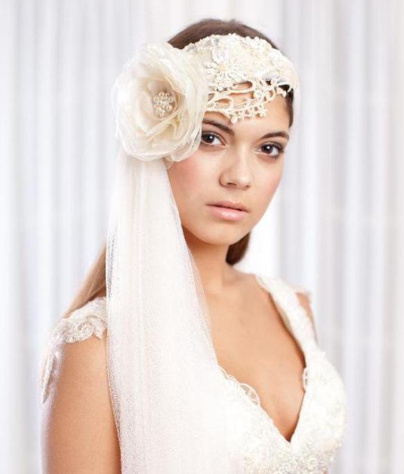 إكسسوارات مميزة لشعر العروس