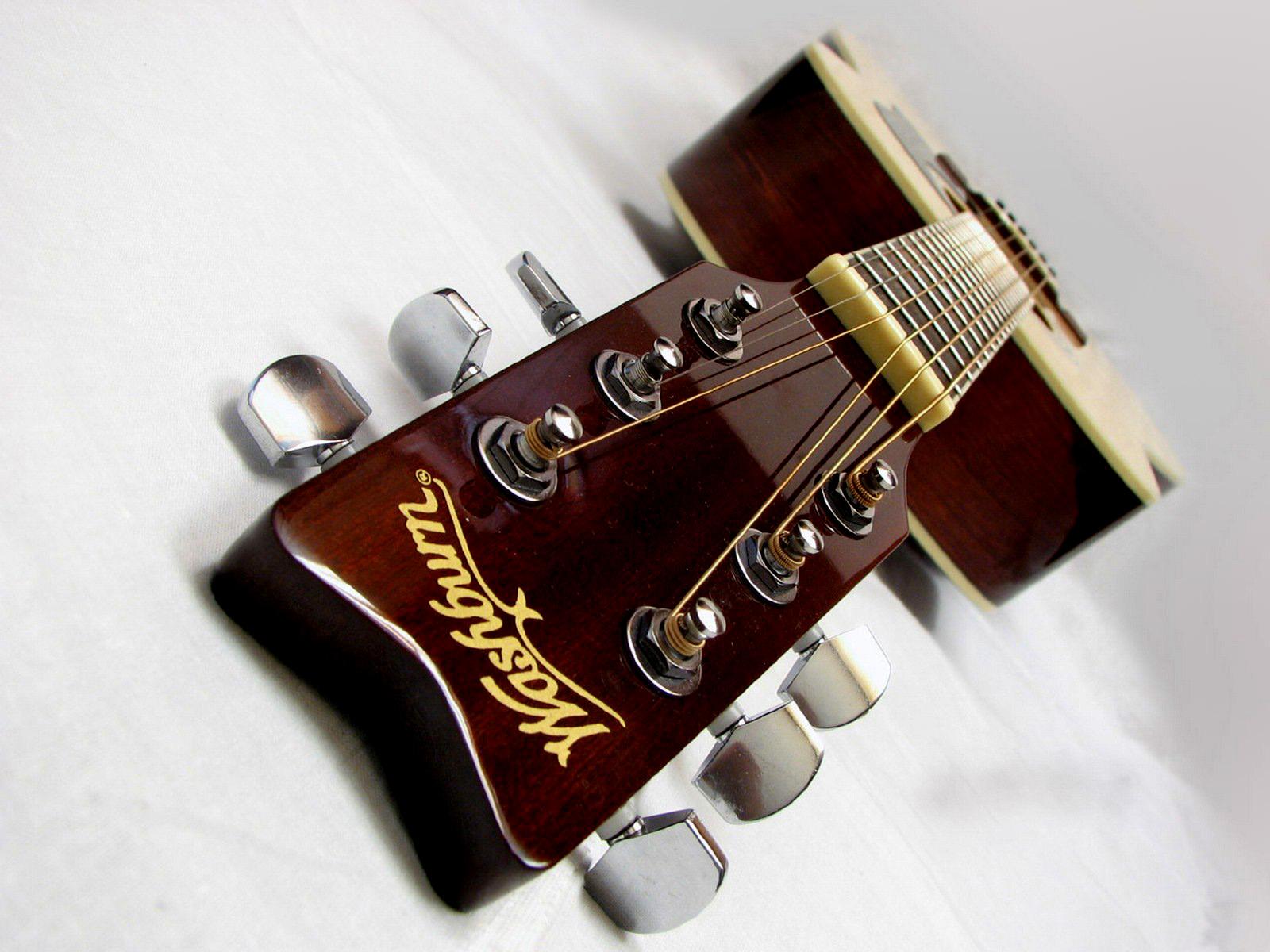 guitar wallpaper washburn acoustic guitar headstock