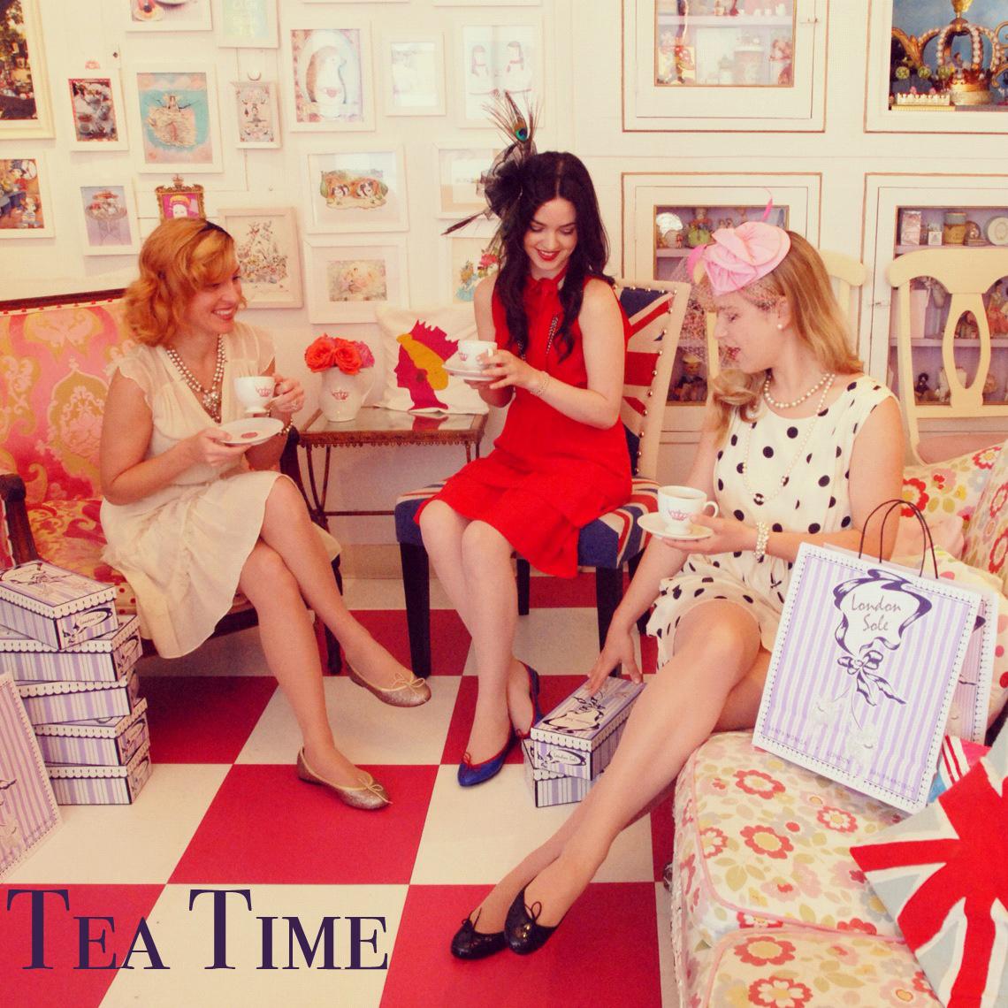 London Sole Tea Time