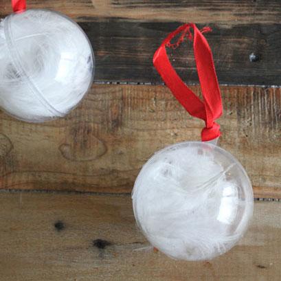 Feather Snowballs