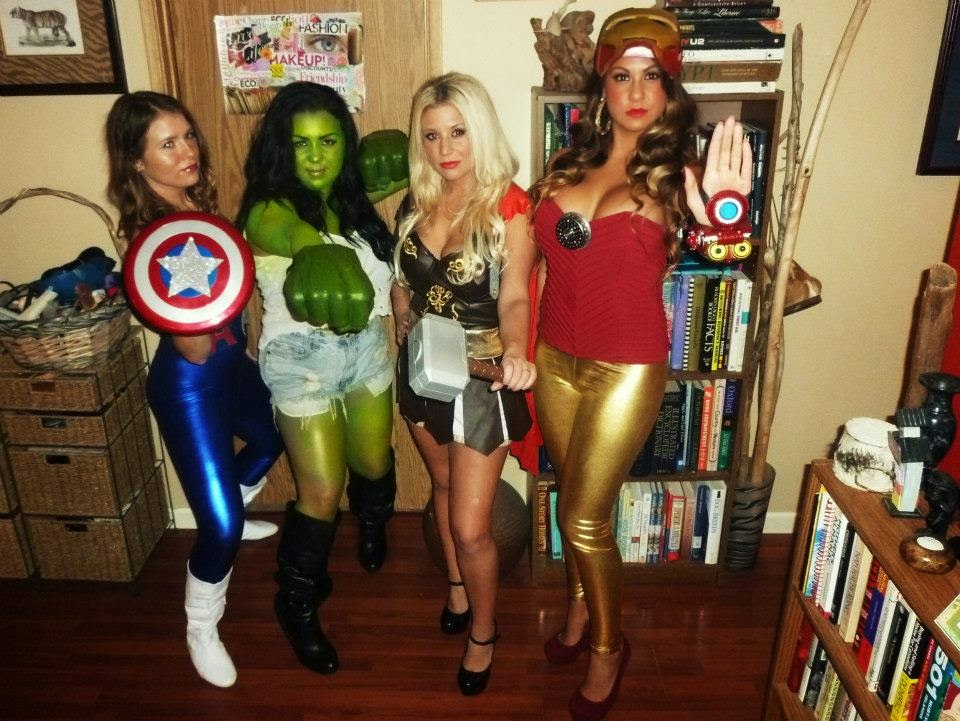 Marvel Avengers Ladies DIY Costumes