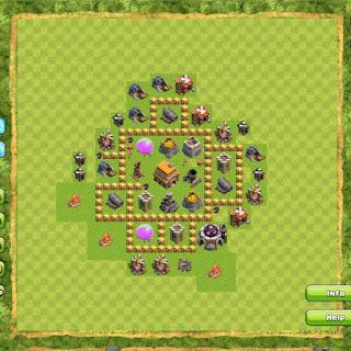 Base Clan War TH5