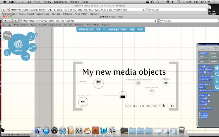 My New Media Objects