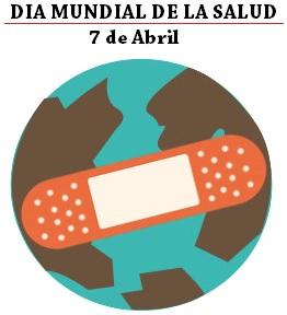 Dibujo fácil por el Día Mundial de la Salud