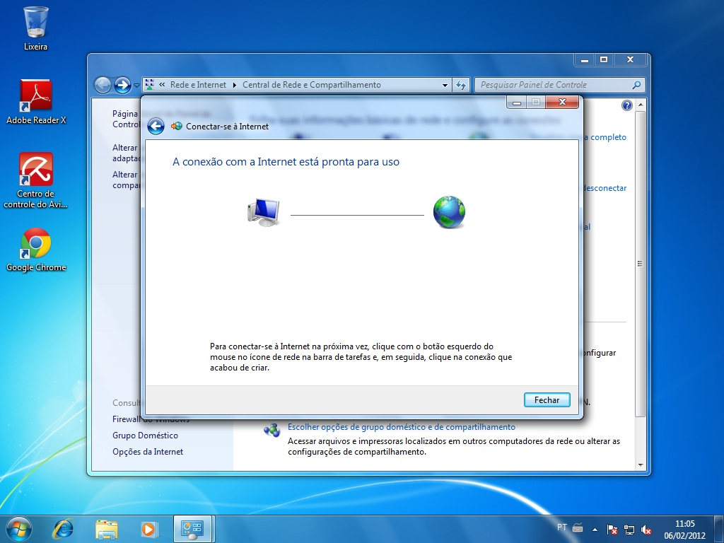 ELETRÔNICA DO PAPAI NOEL: CONFIGURANDO PPPoE NO WINDOWS 7 - SEVEN
