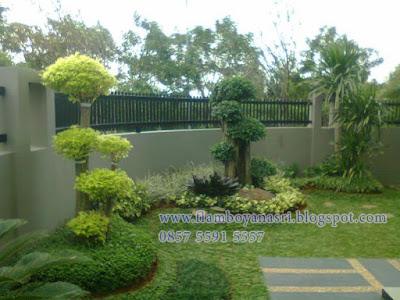 Tukang Taman Surabaya Taman Minimalis Pagar