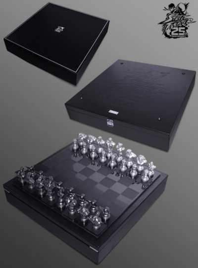 Jogo de Xadrez de Street Fighter