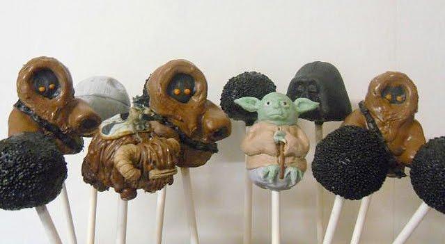 Star Wars Cake Pop Images : Super Bowl Update: Cake Pops Like You ve Never Seen Before ...