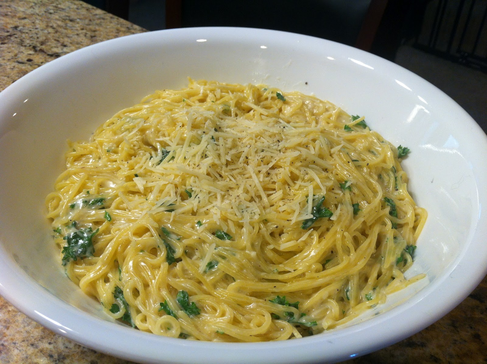 very yummy... very filling... very garlicky pasta!!!! Found on ...