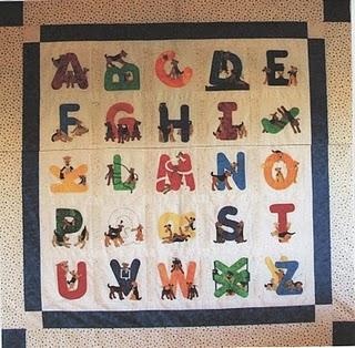 Alphabet Quilting Patterns : BABY ALPHABET QUILT BLOCK PATTERN FREE Knitting PATTERNS