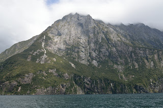 Mitre Peak at Milford Sound, New Zealand