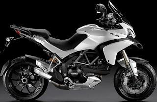 Ducati Multistrada 1200 white