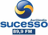 Rádio Sucesso FM de Aurilândia ao vivo