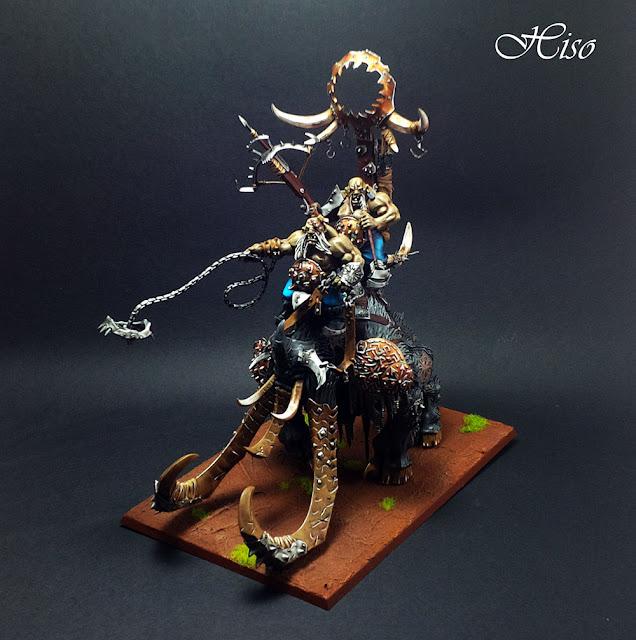 Warhammer - Ogres - Megastodonte