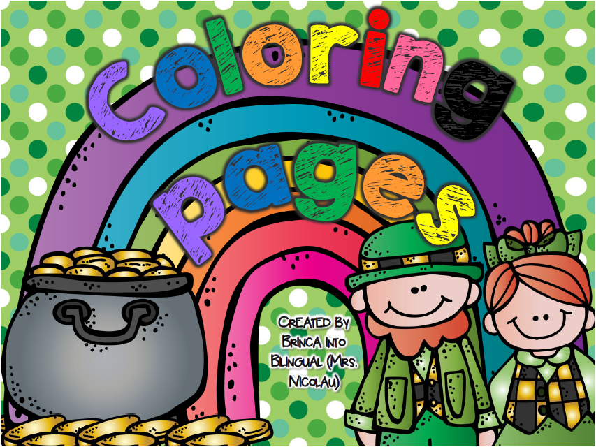 https://www.teacherspayteachers.com/Product/FREE-St-Patricks-Coloring-Pages-Paginas-para-colorear-PK-2-ENGLISH-AND-SPANISH-1749786