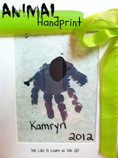 Animal Handprint