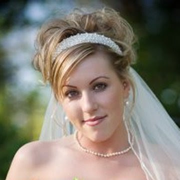 Bridal Hairstyles For Long Hiar With Veil Half Up 2013 For Short Hair Indian Half Up Half Down ...