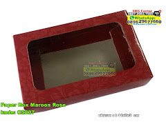 Paper Box Maroon Rose
