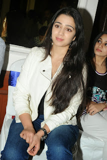 Actress Charmi Kaur Pictures in Jeans at One by Two Movie Celetes 20 Years Event  0156