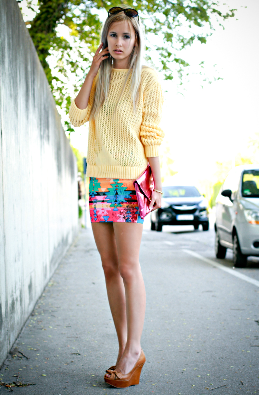 the mandarine girl, blogger - Wheretoget