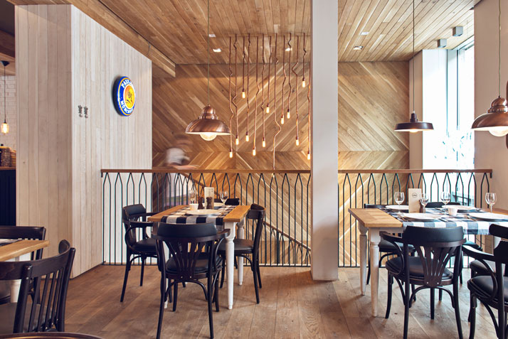 Althaus A Bavarian Restaurant Located In Poland Executes Rustic And Modern Interior Seamlessly