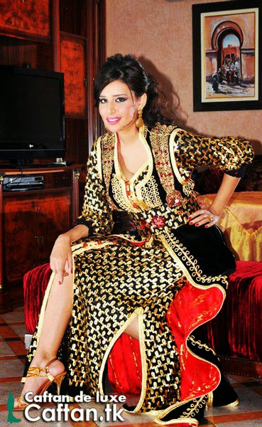 Caftan marocain très chic