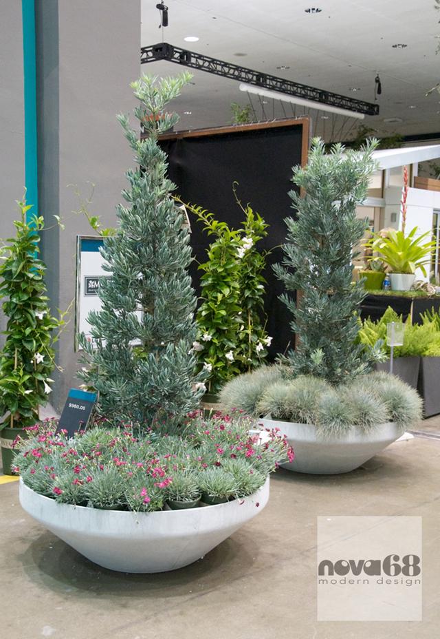 The Lago Di Lugano Planters From NOVA68 At The Recent Monrovia Garden Show.