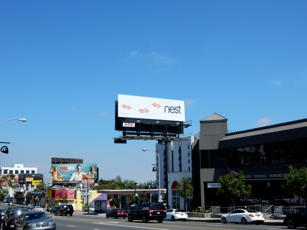 Nest Cam billboard