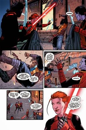 Star Wars: La tribu perdida de los Sith en cómics