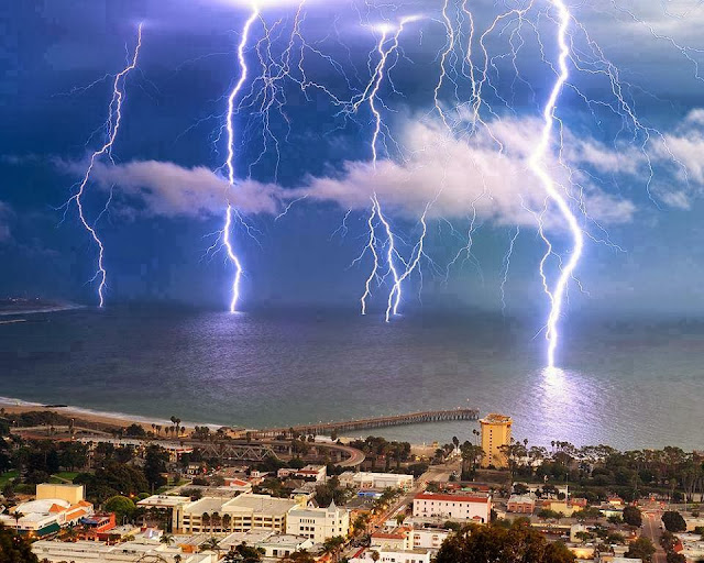 Lightning Storm- Ventura- California