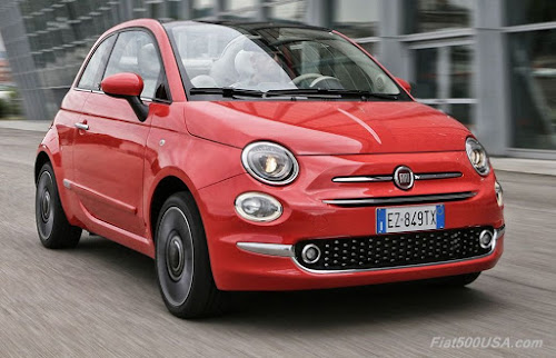 2016 Fiat 500 - European Model Shown