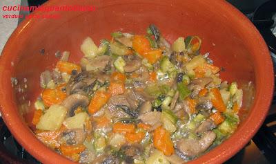verdure miste stufate